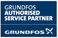 Grundfos authorized service logo